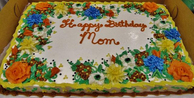 Groovy Fall Birthday Sheet Cake Cake By Nancys Fancys Cakes Cakesdecor Birthday Cards Printable Inklcafe Filternl