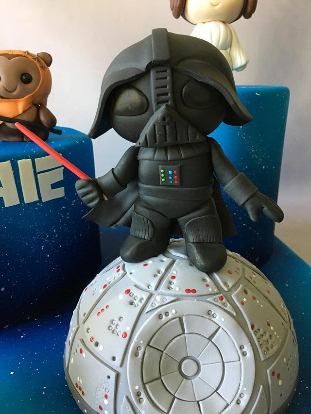 Star Wars figures Cake