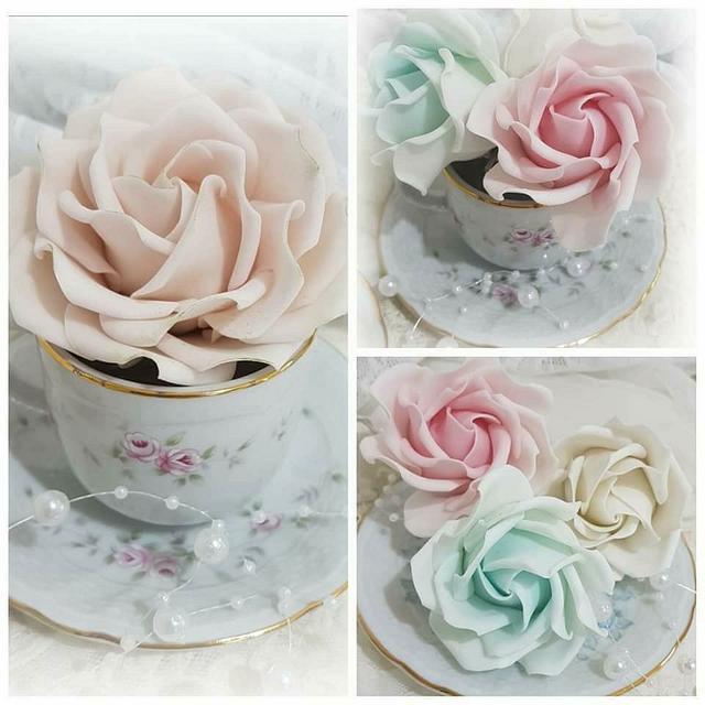 Rosas shabby💕