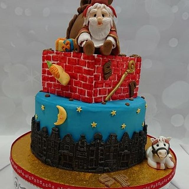 Sinterklaas cake and lolly's