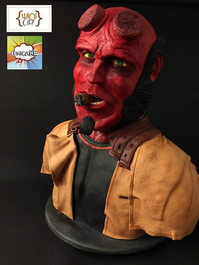 Hellboy  COMICAKE collaboration 2015