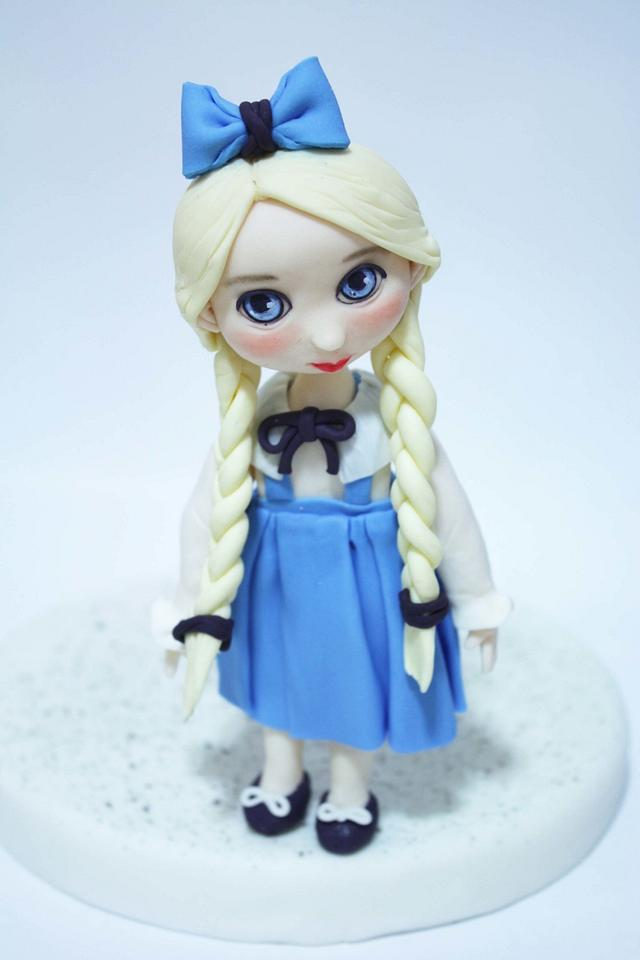last blue baby doll