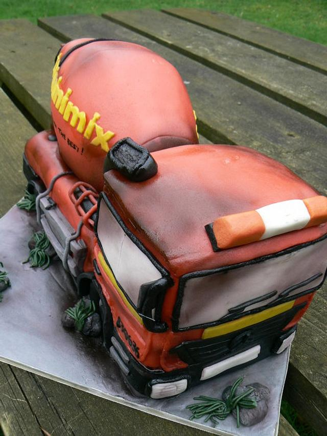 Cement Mixer lorry