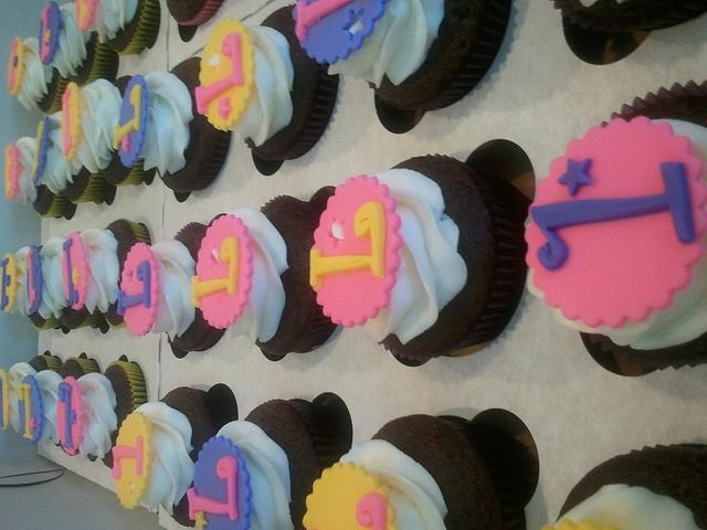 Cuppies for a 1st birthday
