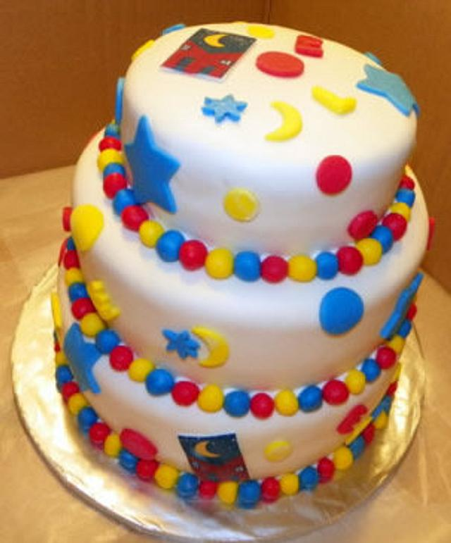 Party at the Louisiana Children's Museum Cake