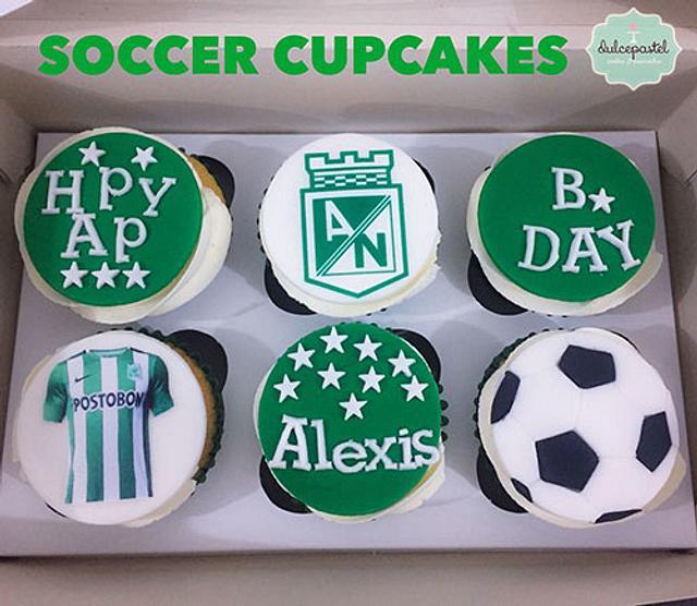 Cupcakes Atlético Nacional Medellín