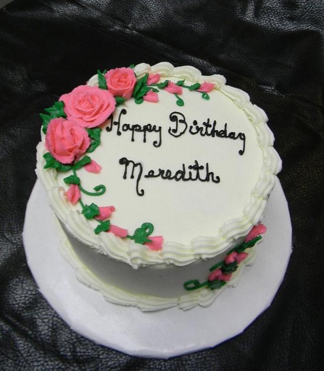 Happy Birthday, Meredith!