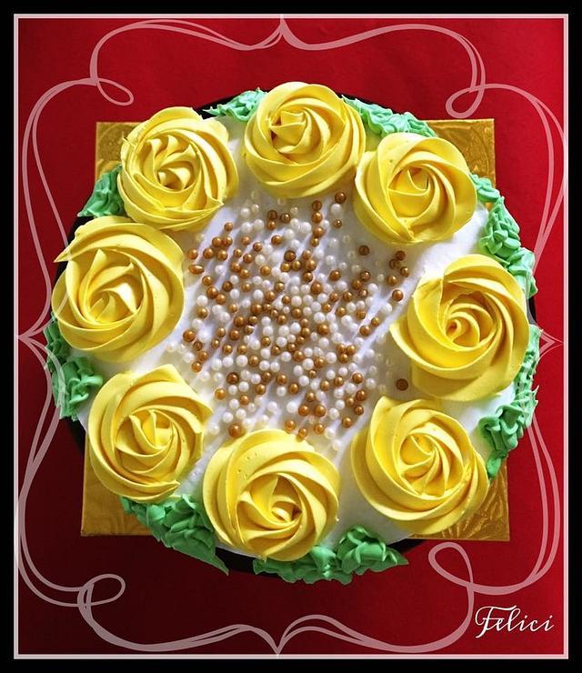 Lemon Floral Delight