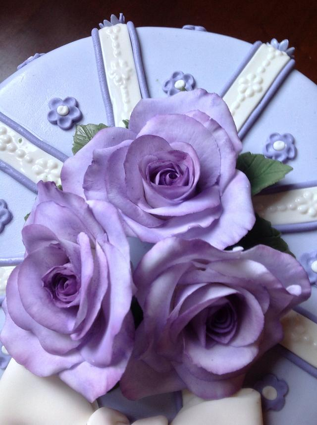 My purple roses...