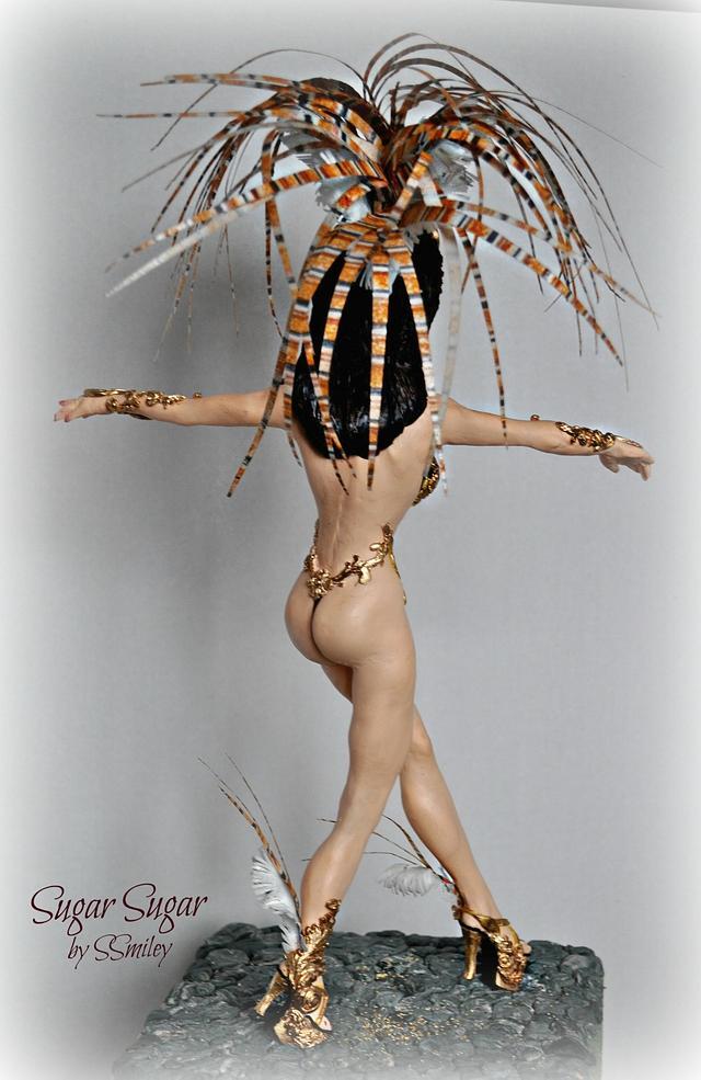 Samba Dancer - Sweet World Carnival Cake Collaboration