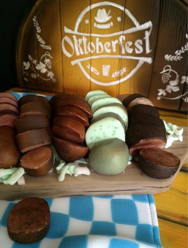 Oktoberfest 2016 Wurst Platter