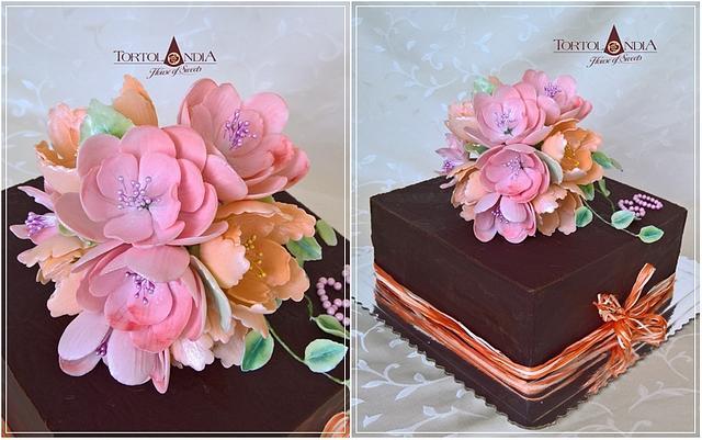 Ganache & Flowers  bouquet