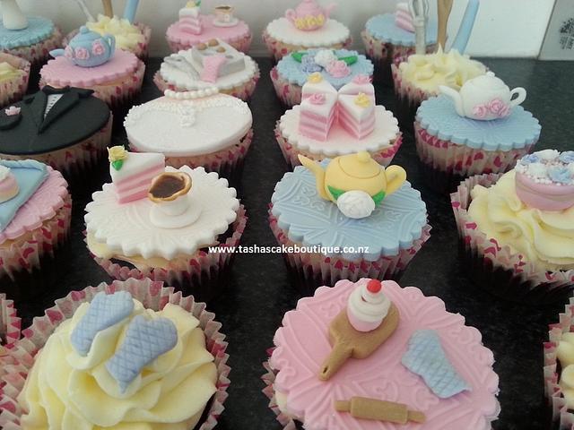 Kitchen Tea Party Cupcakes