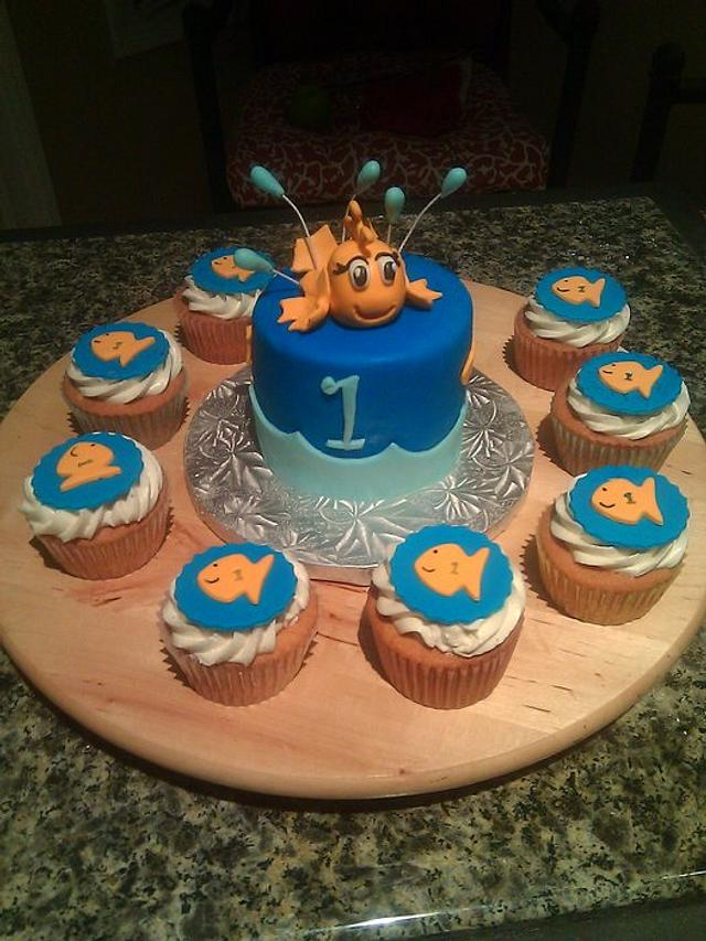 Little fish cake for 1 yr old