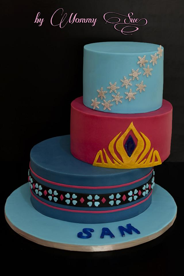 The Snow Queen - Frozen Themed Cake