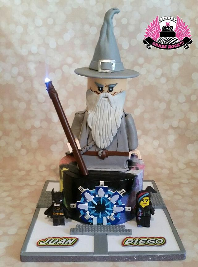 Lego Dimensions Icing Smiles Cake