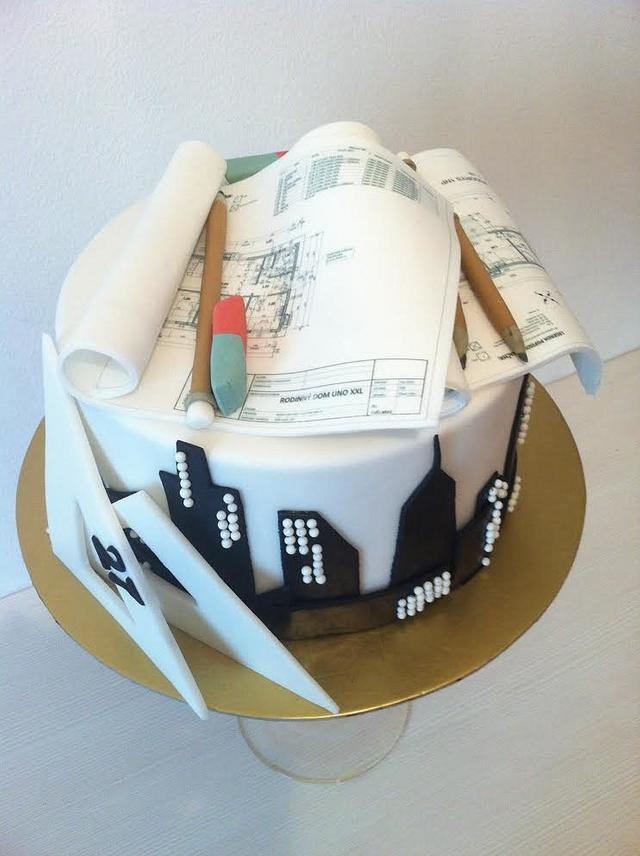 Cake for architect
