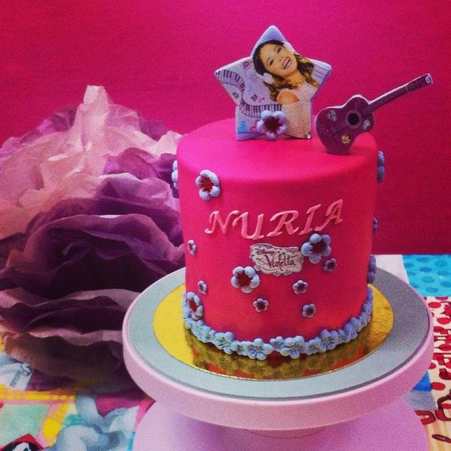 Violetta Cake. Tarta Violetta.