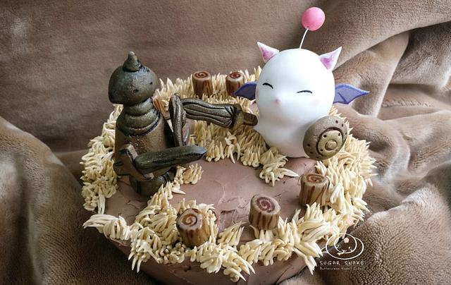 Sugar Myths and Fantasies Collaboration Global Edition: Moogle Cake