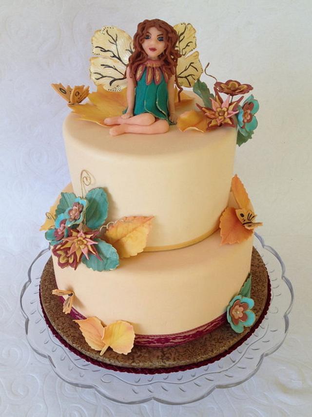 Harvest Fairy Cake