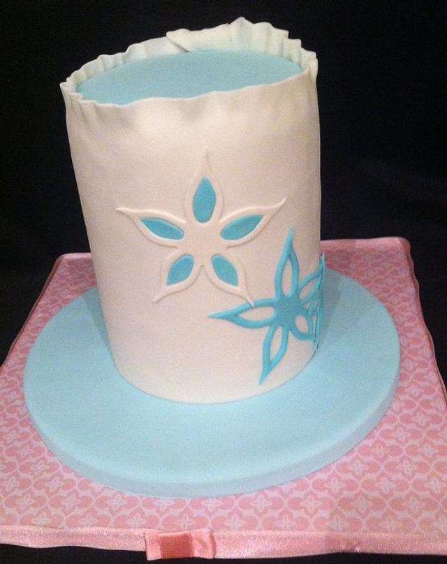 vaughn's mothers day card cake