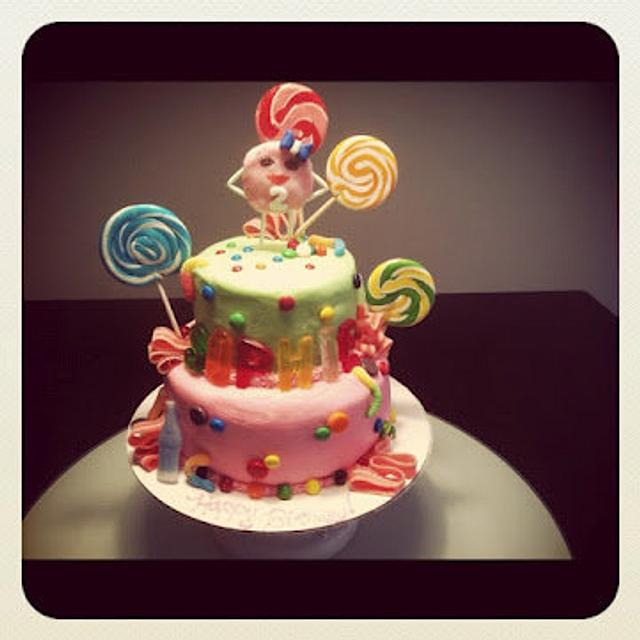 Sophie's Candy Cake!