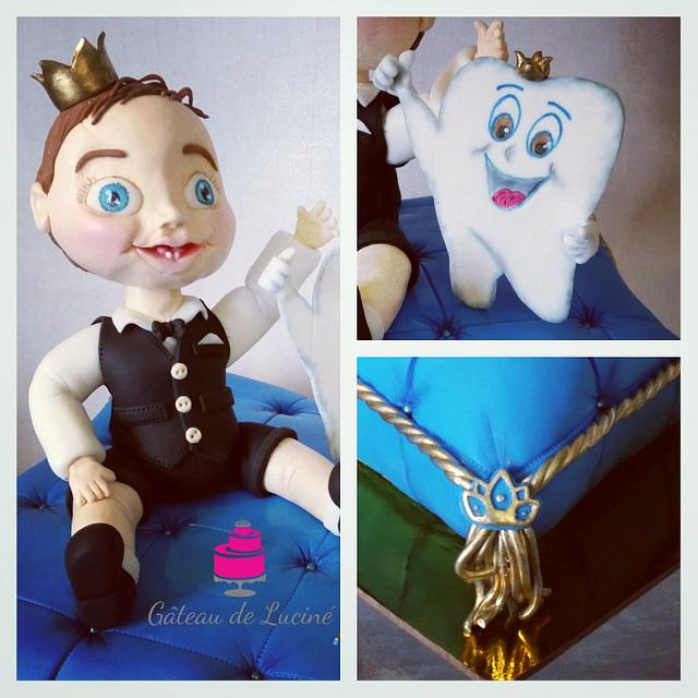 Little prince theme for the first tooth
