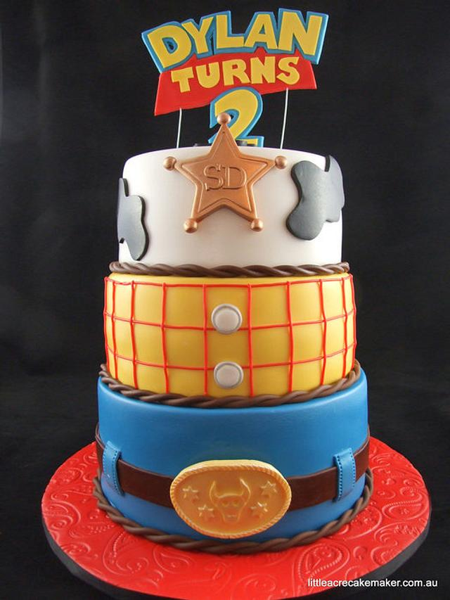 "Woody ""Toy Story"" Birthday Cake"