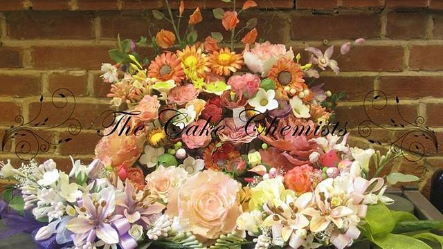 Cake Decorator's Flower Garden