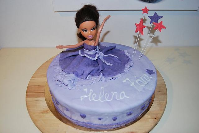 Excellent Bratz Birthday Cake Cake By Eva S Sigurdardottir Cakesdecor Personalised Birthday Cards Akebfashionlily Jamesorg