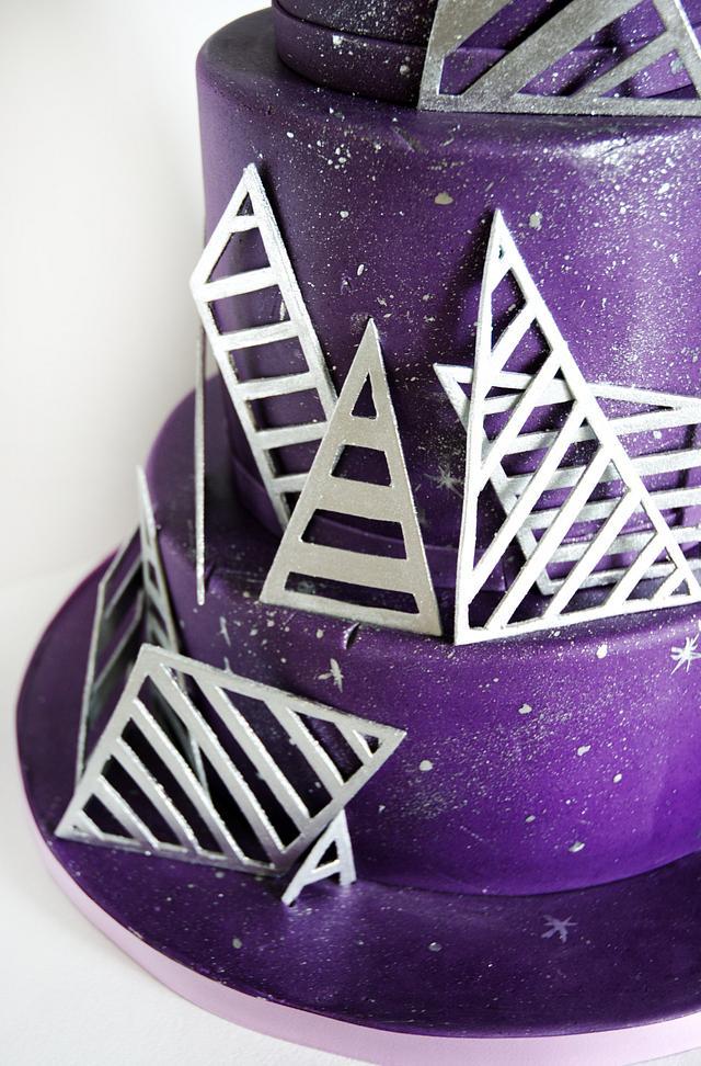 Cosmic Purple Cake