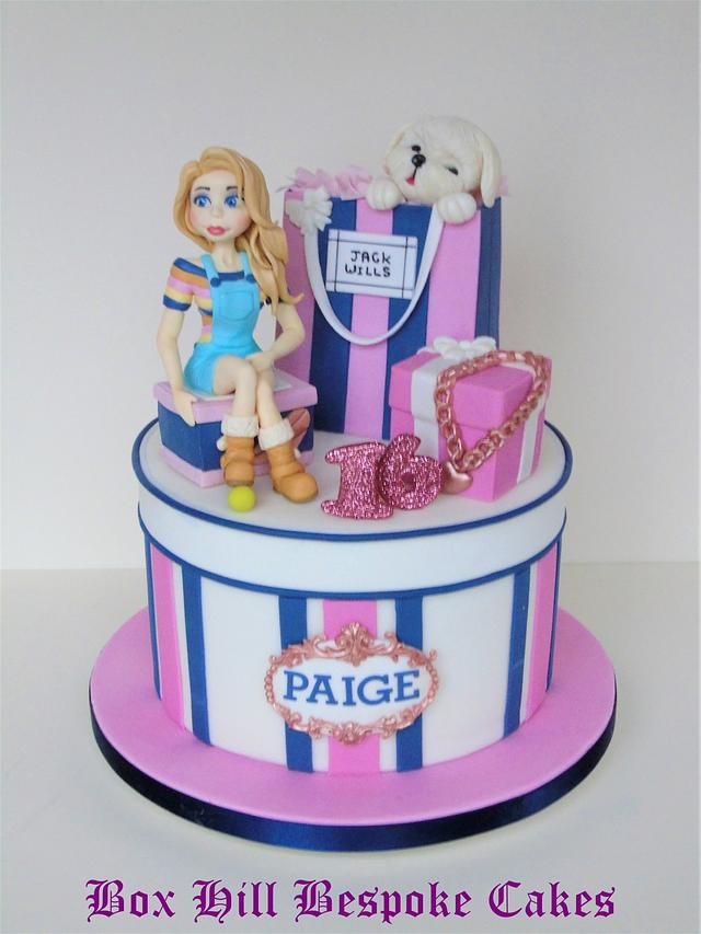 Sweet sixteen Jack Wills Cake