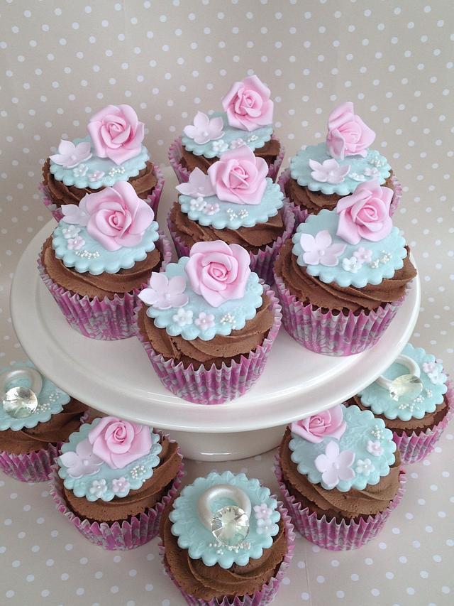 Engagement & Birthday cupcakes