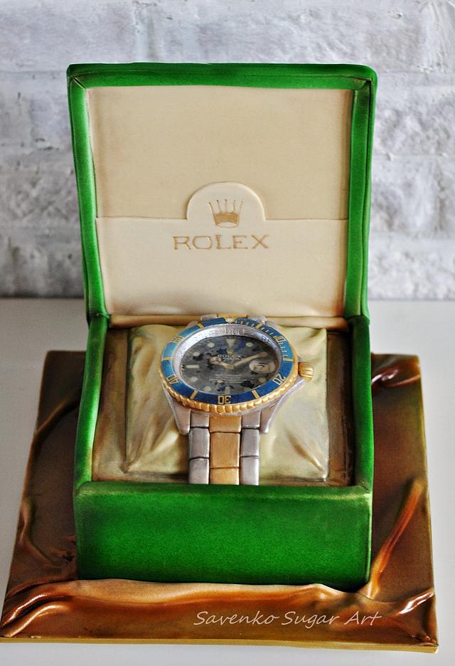 Rolex Submariner Cake