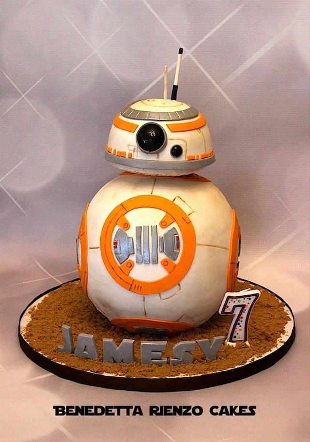 BB-8 Cake for Jamesy