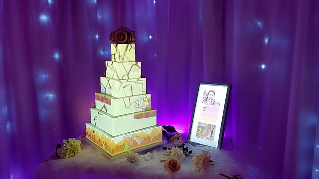 Projection Mapping Cake Launched in the UK