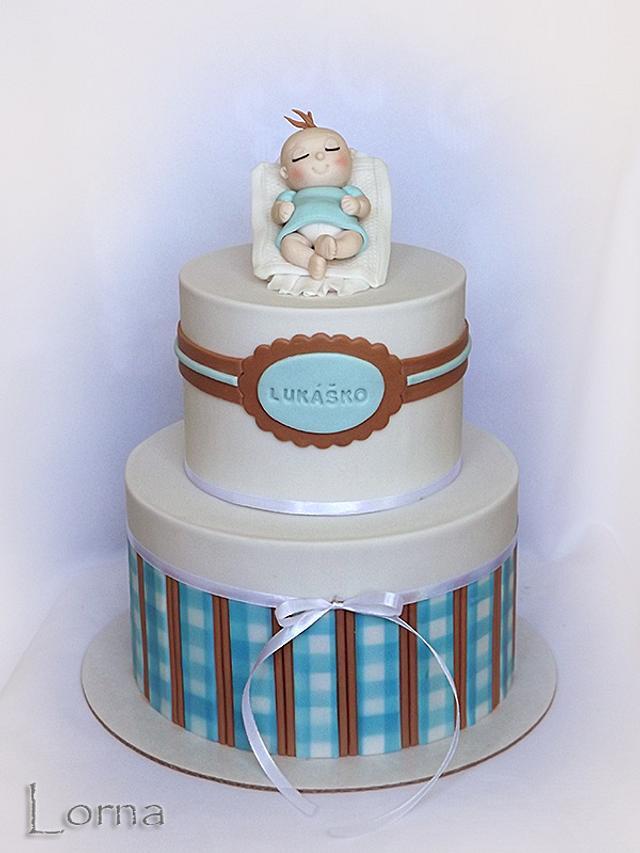 Christening cake..