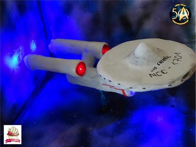 Enterprise für Star Trek birthday