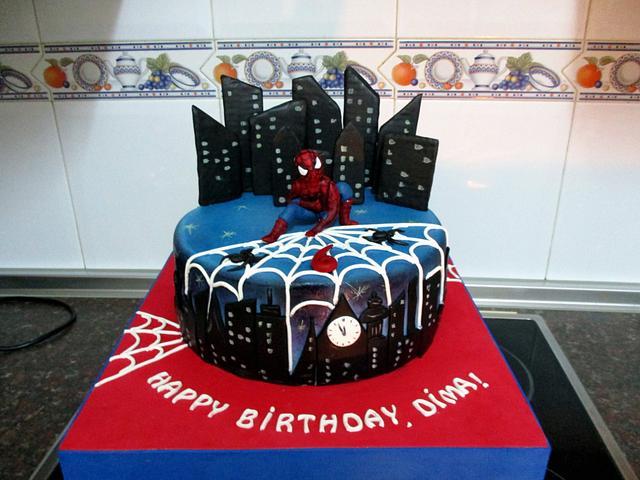 SPIDERMAN CAKE (DIMA)