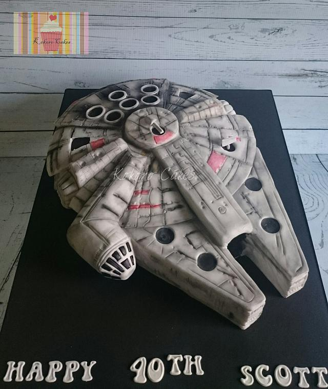 Light up Millennium falcon