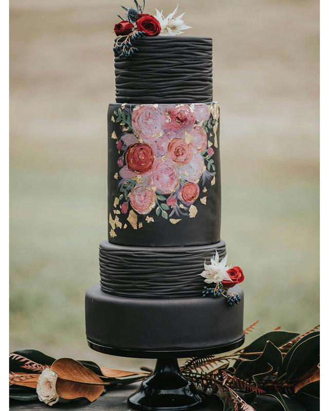 Moody Black Wedding