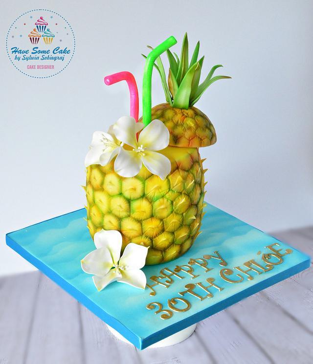 Summer birthday cake !!!