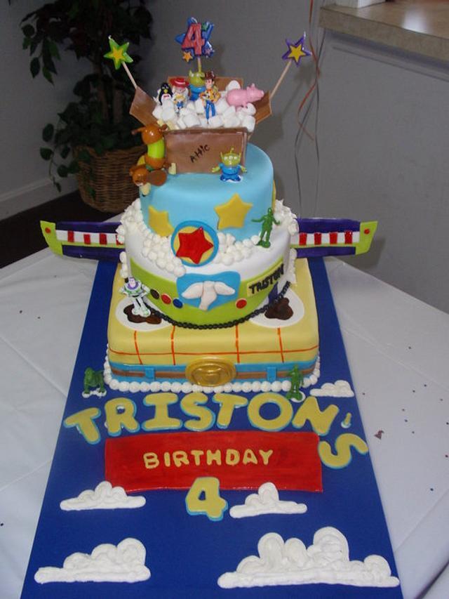 A Toy Story Birthday