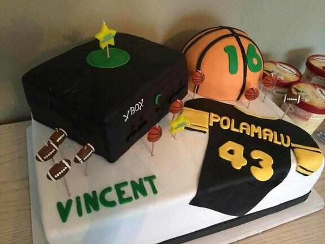 Remarkable Boys 16Th Birthday Cake Cupcakes Cake By Sassy Cakesdecor Funny Birthday Cards Online Overcheapnameinfo