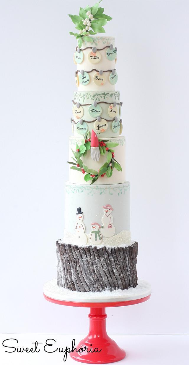 A little Tomte Christmas : Cuties little Christmas Collaboration.