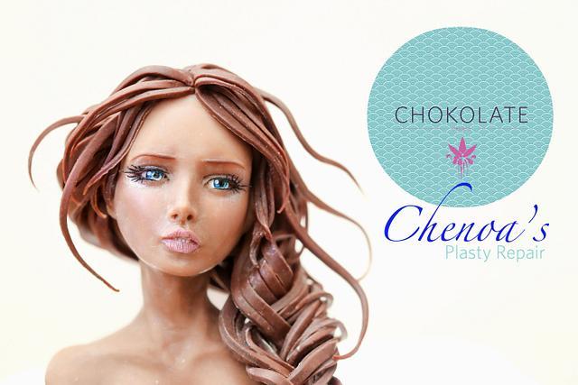 Chenoa Chocolate buste
