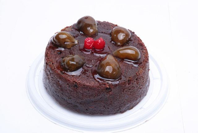 Torta negra con brevas