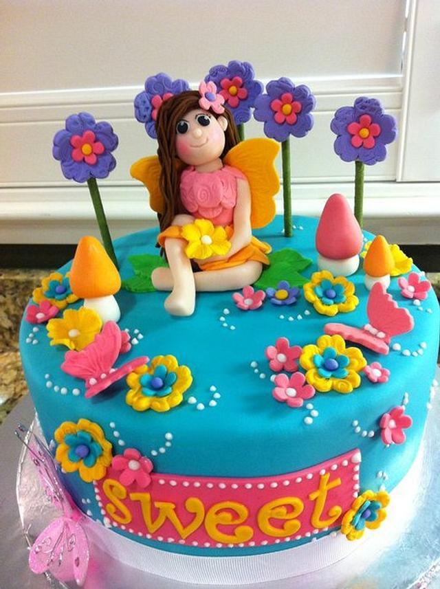 Little fairy cake