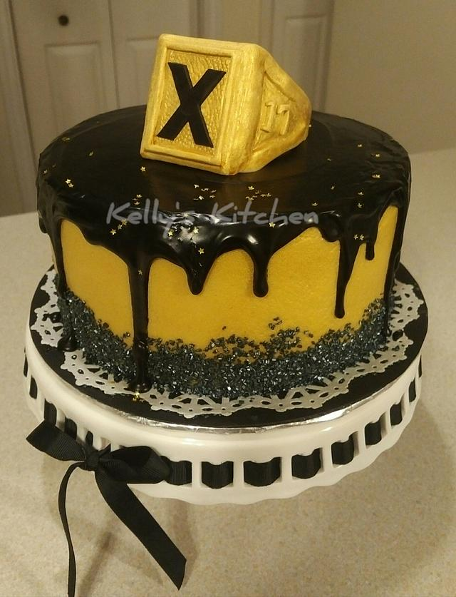 St FX grad ring ceremony cake