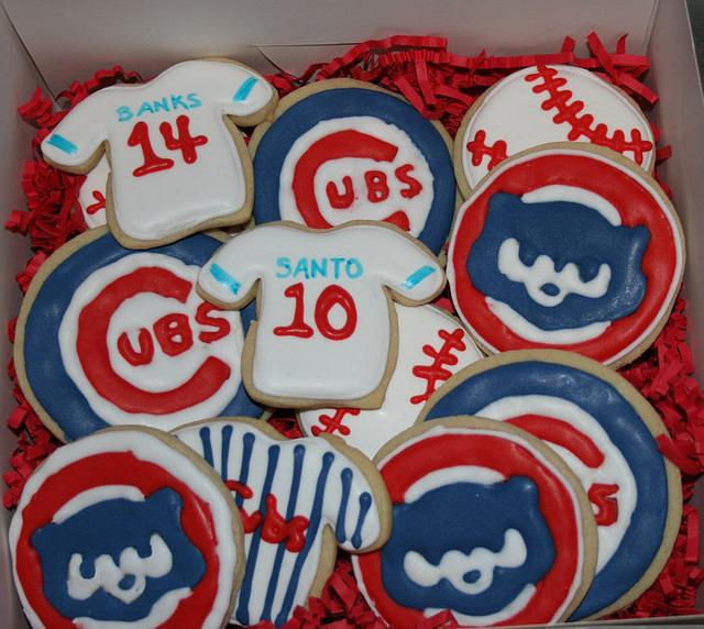 Chicago Cubs Butter cookies